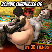 3D Fiends Zombie Chronicles 06