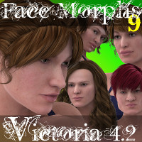 Farconville's Face Morphs 9 for Victoria 4.2