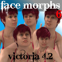Farconville's Face Morphs 6 for Victoria 4.2
