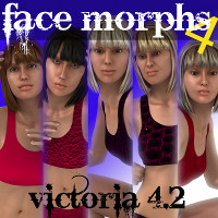 Farconville's Face Morphs 4 for Victoria 4.2