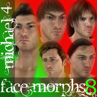 Farconville's Face Morphs for Michael 4 Vol.8