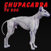 Darkseal's Chupacabra for Poser8Dog
