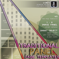 Loki's Traditional Comicbook Templates