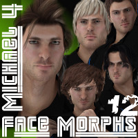 Farconville's Face Morphs 12 for Michael 4