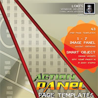 Loki's Action Comicbook Templates