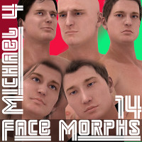 Farconville's Face Morphs 14 for Michael 4