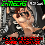 "Davo's Z-Mechs ""Alien Abduction Core Pack"""