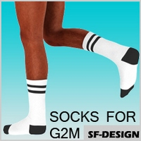 Sport and Casual Socks Pack for G2M