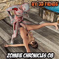 3D Fiends Zombie Chronicles 08