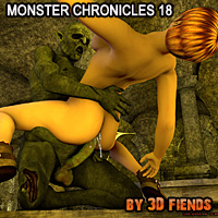 3D Fiends' Monster Chronicles 18