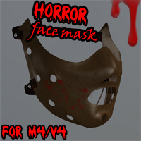 Horror Face Mask for M4V4