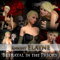 Knight Elayne - Betrayal in the Priory
