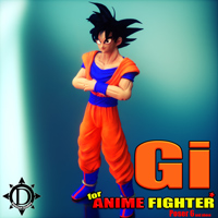 Gi for Anime Fighter
