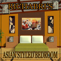 Asian-Styled Bedroom