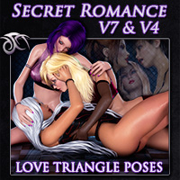 Secret Romance 3 - Lesbian Poses for V7 and V4