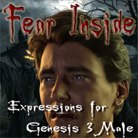 Fear Inside - Expressions For Genesis 3 Male