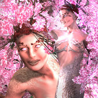 Enchanted Forest: Sakura - Lady of the Woods for V4