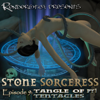 Stone Sorceress Episode 9: Tangle Of Tentacles Part 1