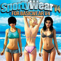 Sporty Wear V4 For Basicwear V4 Unimesh
