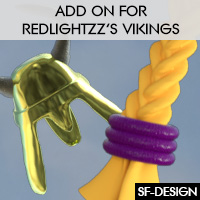 Texture Add On for RedlightZZ's Vikings