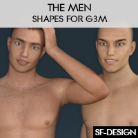 The Men - Shapes For Genesis 3 Male