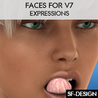 Faces For Genesis 3 Female And V7