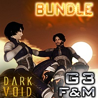 Dark Void ZX02 Suit Bundle For G3M And G3F