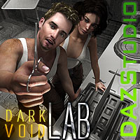 Dark Void Laboratory For Daz Studio
