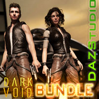Dark Void ZX01 For G3 Bundle For Daz Studio