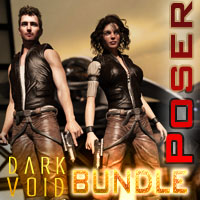 Dark Void ZX01 Bundle For M4 V4 Poser