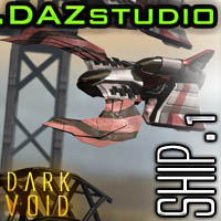 Dark Void Ship 1 Construction Set DS