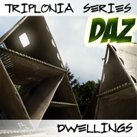 Triplonia Dwellings Construction Set DS