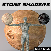 Stone Shaders For Iray and Merchant Resource