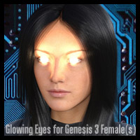 Glowing Eyes For Genesis 3 Female(s)
