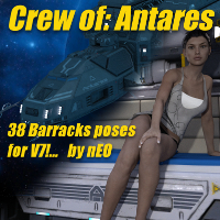 Crew Of Antares V7 Barracks