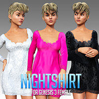Nightshirt For G3 Female(s)