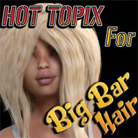 HotTopix 4 Big Bar Hair