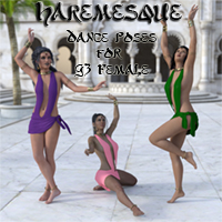 Haremesque Dance Poses
