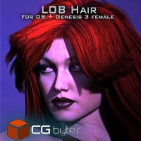 ArtDev Flowing Hair And Zbrush Assets