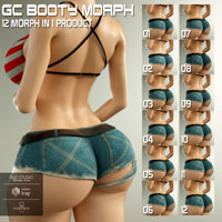 GC Booty Morph For G8F