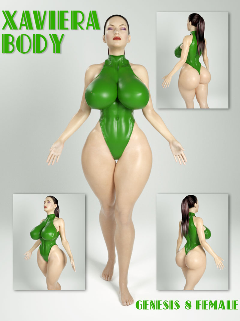 Xaviera Body For Genesis 8 Female