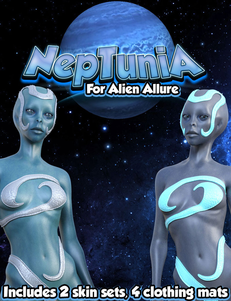 Neptunia For Alien Allure