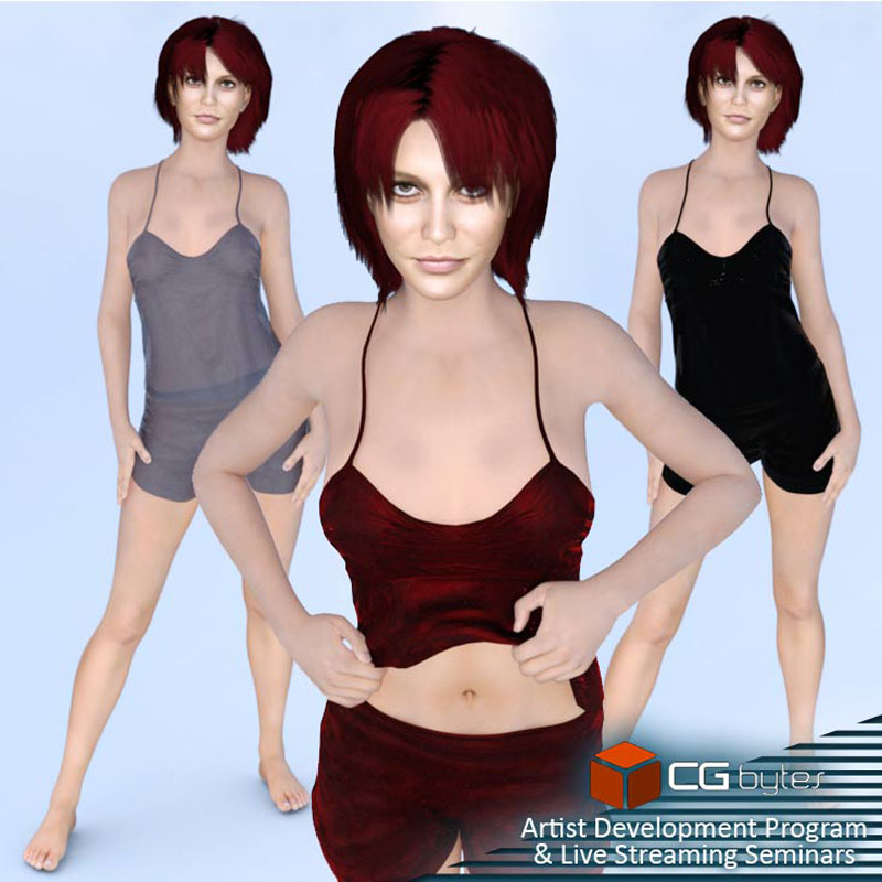 ArtDev Camisole And Shorties Set DS