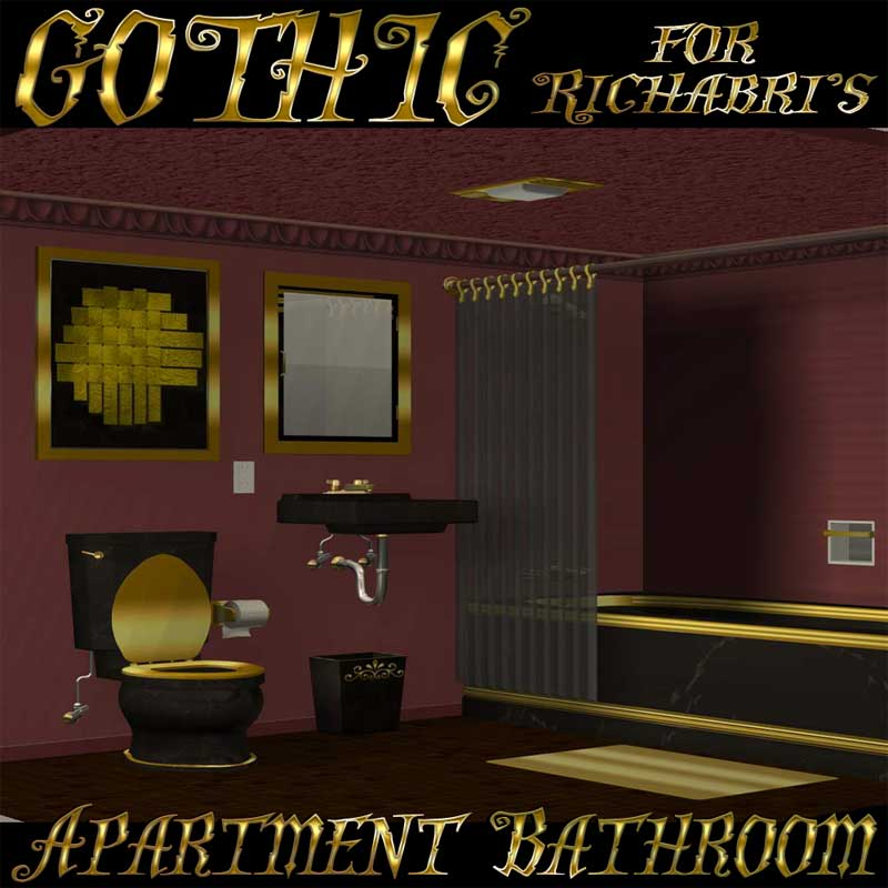 Gothic Apt Bathroom