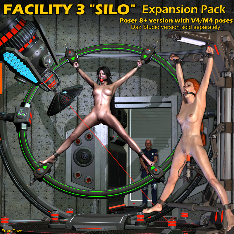 "Facility 3 ""Silo"" Expansion Pack For P8+"