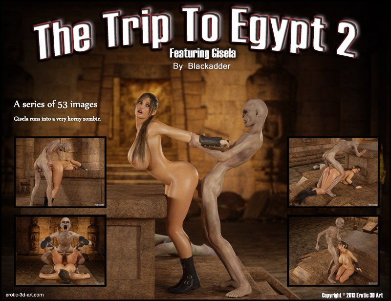 Blackadder's The Trip To Egypt 2