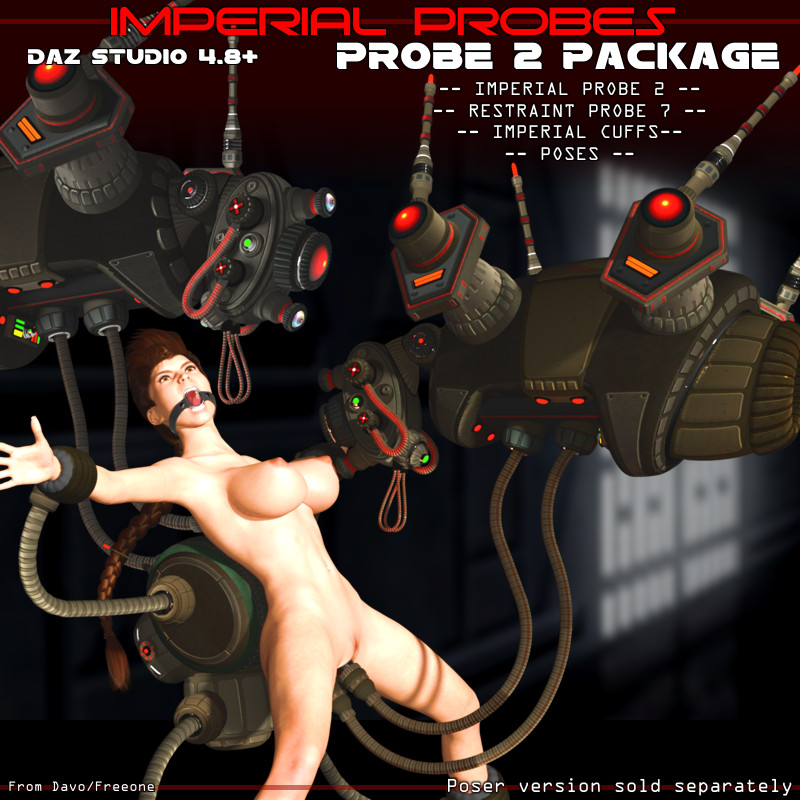"Imperial Probes ""Probe 2"" For DazStudio 4.8+"