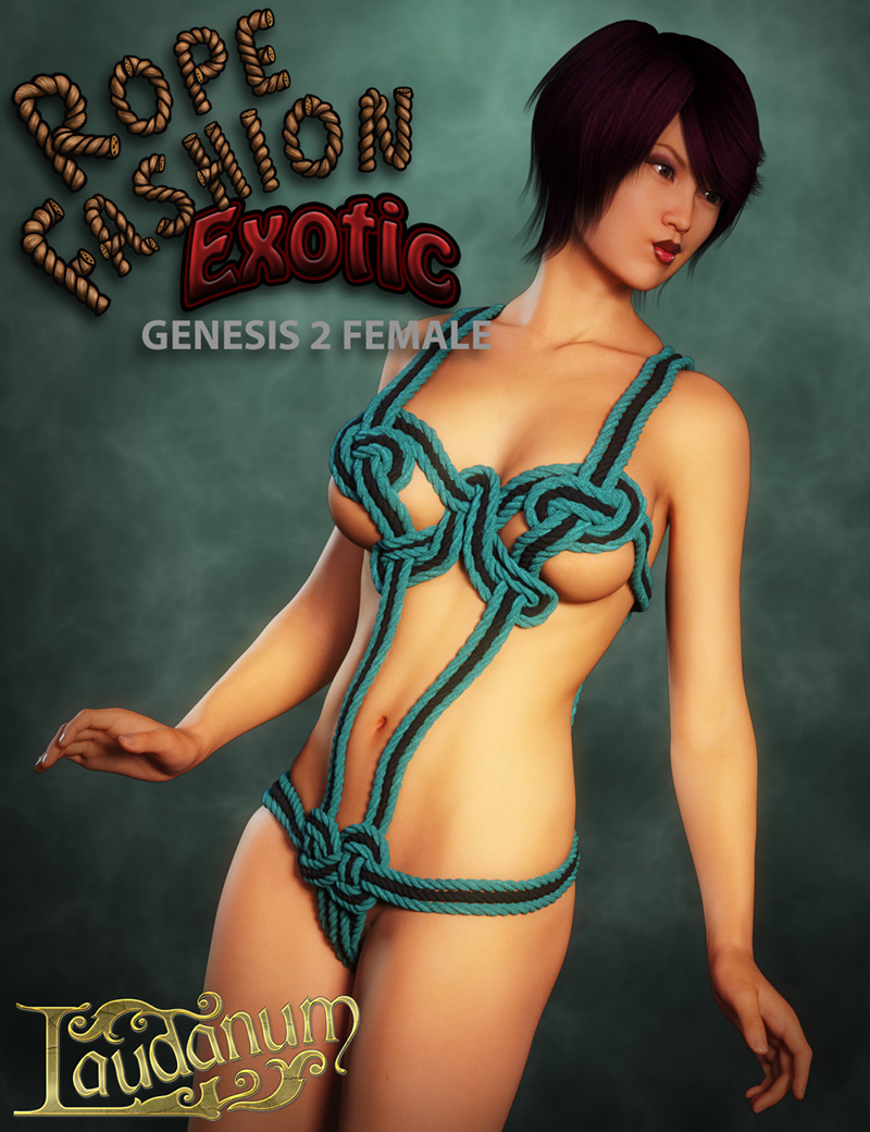Rope Fashion Exotic For Genesis 2 Female