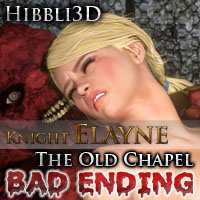 Knight Elayne: The Old Chapel - Bad Ending
