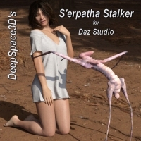 S'erpatha Stalker For Daz Studio